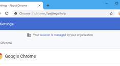 "Why Does Chrome Say It's ""Managed By Your Organization?"""