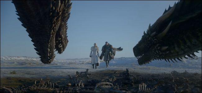 Game of Thrones season 8 trailer showing dragons
