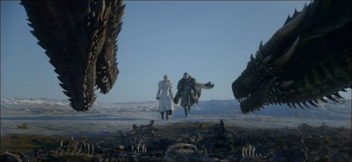 Game of Thrones season 8 trailer showing dragons