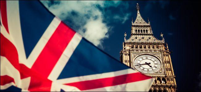 UK flag and Big Ben representing parliament