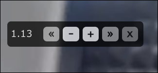 acelerar el video html5