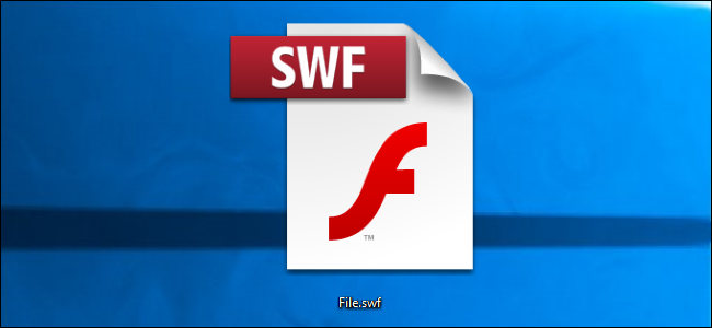 SWF file on Windows desktop