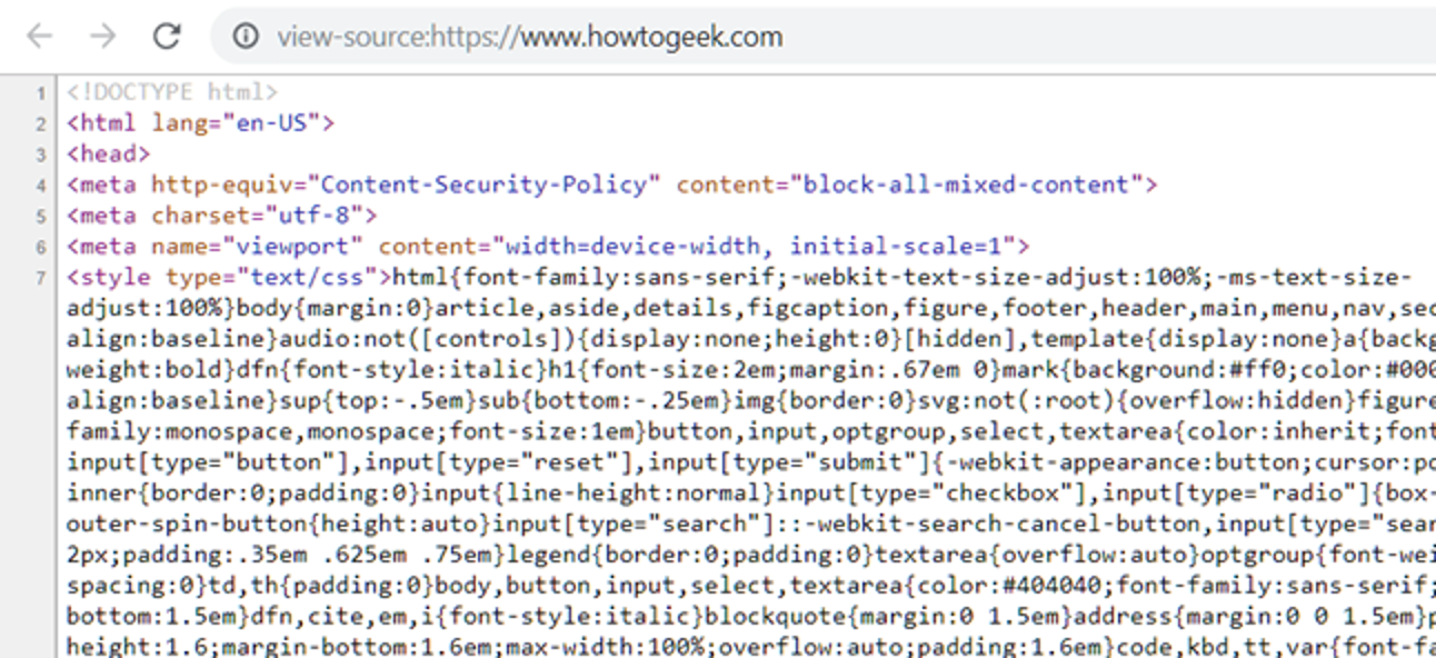 Image result for How to View HTML Source?