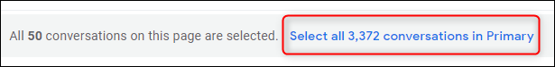 The link to select all emails in your Gmail inbox