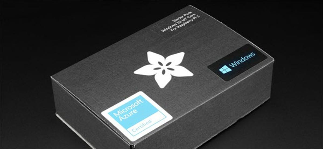 Windows 10 IOT Starter Pack with Rasberry Pi