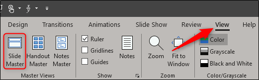 Slide Master in PowerPoint
