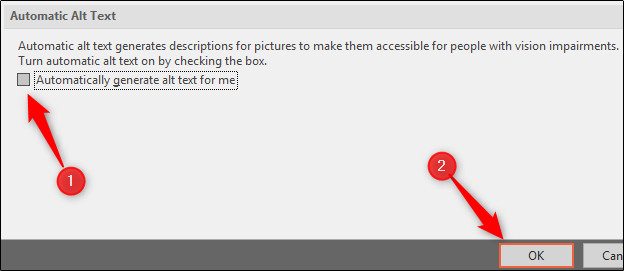 automatic alt text