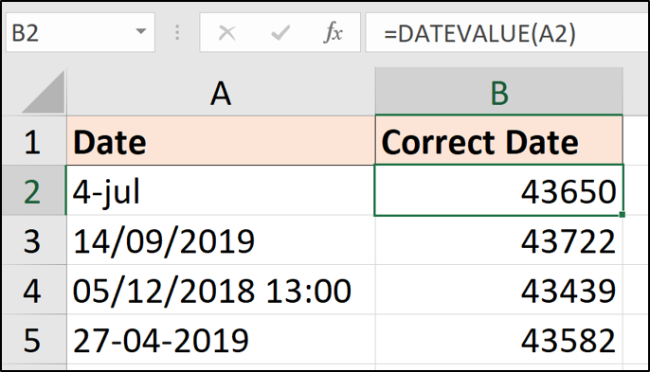 How to Convert Text to Date Values in Microsoft Excel