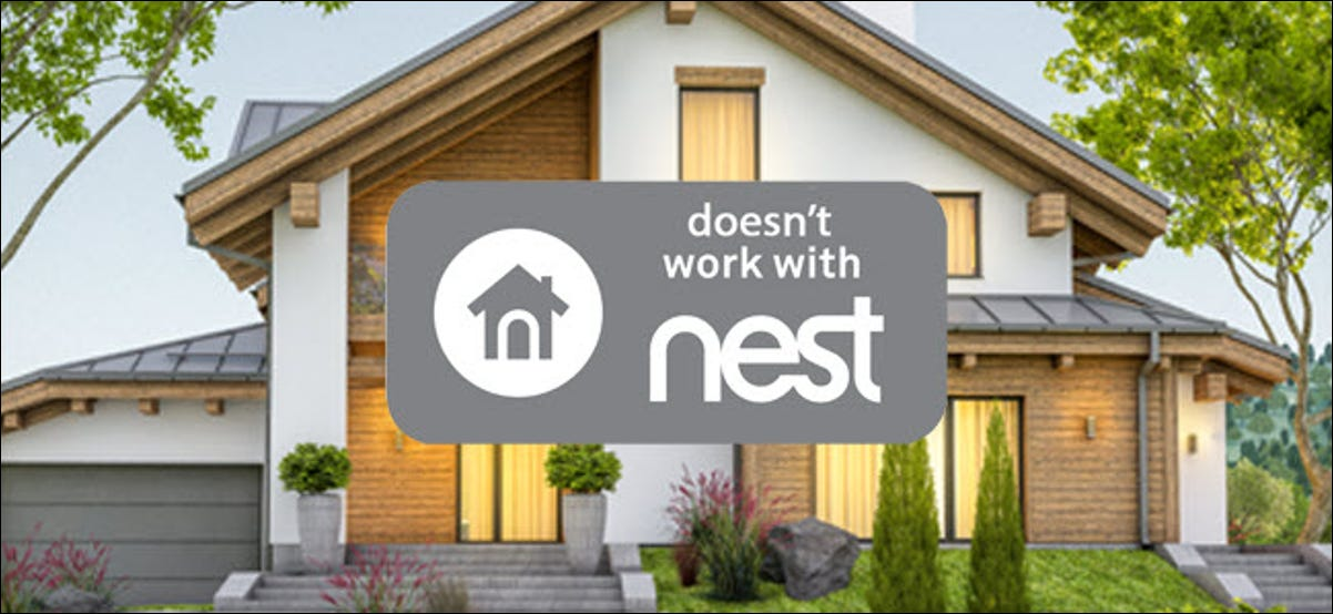 """Doesn't work with nest"" style logo in front of a home."
