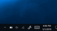 How to Restore a Missing Battery Icon on Windows 10's Taskbar