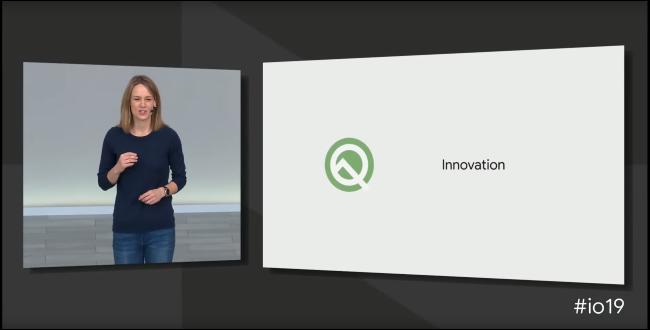 Android Q at Google I/O