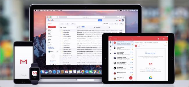 Gmail on MacBook, iPad, iPhone, and Apple Watch