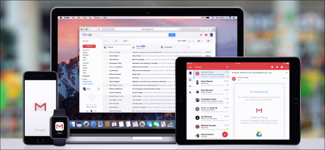 Gmail en MacBook, iPad, iPhone y Apple Watch