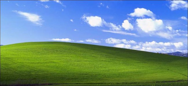 Windows XP desktop background