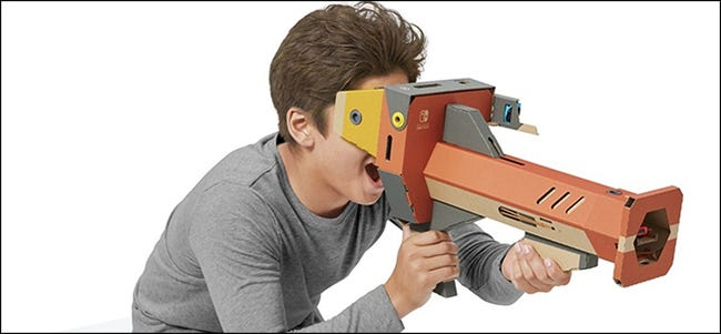 Nintendo Labo VR cardboard headset for the Switch
