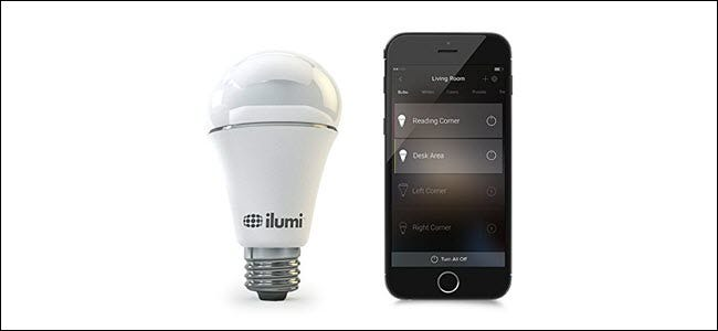 ilumi blutooth bulb with phone