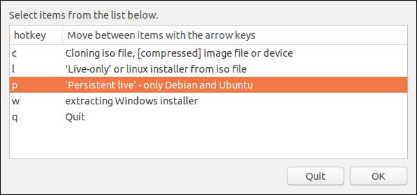 Ubuntu and Debian only option
