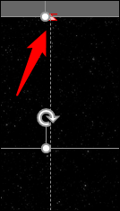 flecha roja