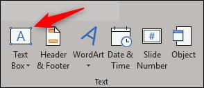 select text box option