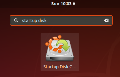 startup disk creator icon