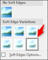 very soft edges