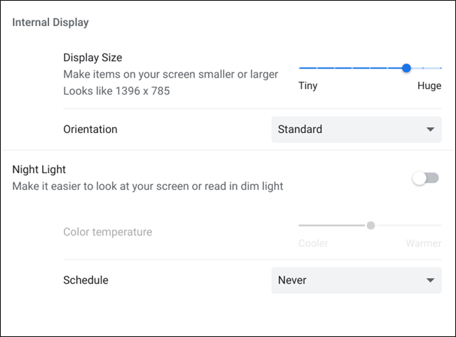 "A list of additional settings for display devices ""width ="" 650 ""height ="" 481"