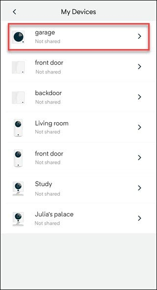How to Share Access to Your Wyze Devices