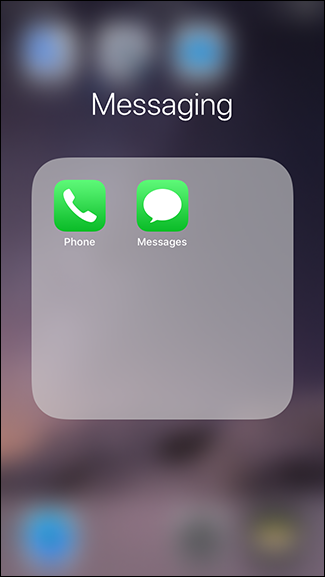putting a folder on the dock