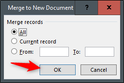 merge to new document
