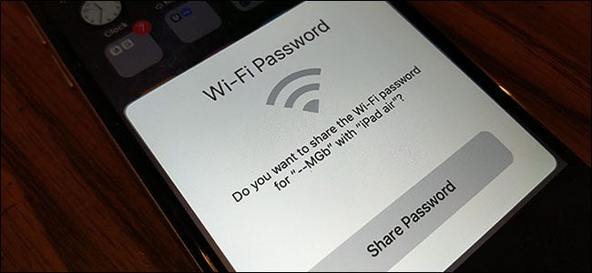 How to share your Wi-Fi password between iPhones