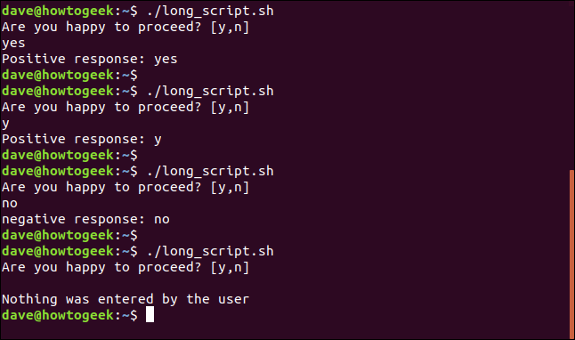 output from long_script.sh in a terminal window