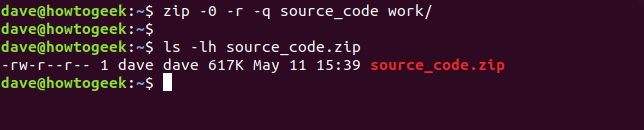 How to Zip or Unzip Files From the Linux Terminal