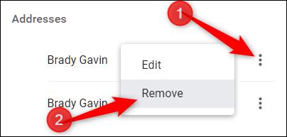 Click the three dots, then click Delete