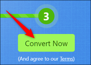 Click Convert Now to begin the conversion
