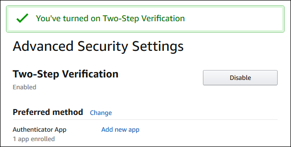 """The """"Advanced Security Settings"""" page"""