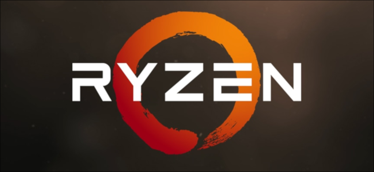 AMD Ryzen Logo on textured background