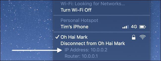Cómo encontrar la dirección IP en una Mac