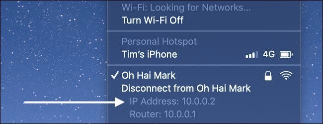 How to Find IP Address on a Mac