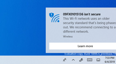 "Why Windows 10 Says Your Wi-Fi Network ""Isn't Secure"""