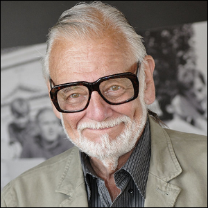 Director George Romero at a French film festival in 2009