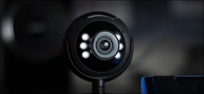 USB desktop webcam with lights