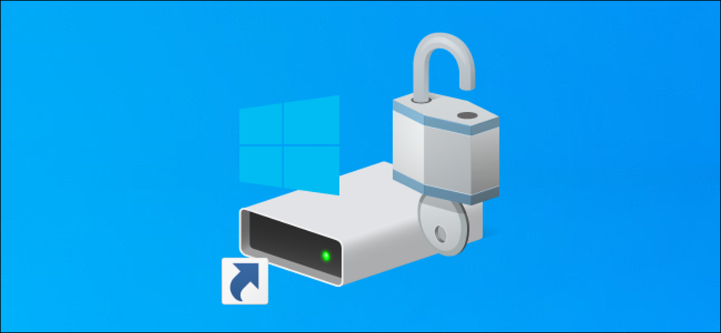 System drive C: shortcut on a Windows 10 desktop