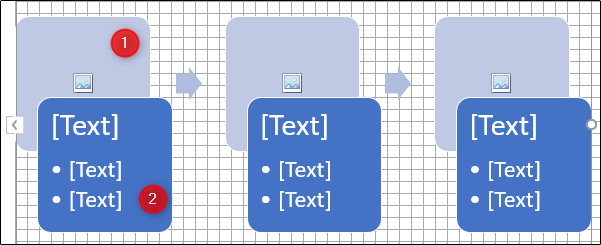 insert text or image in flowchart