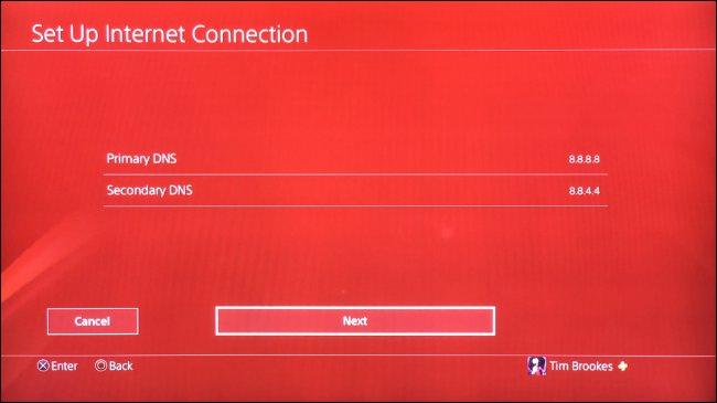 Configurar DNS personalizado para PS4