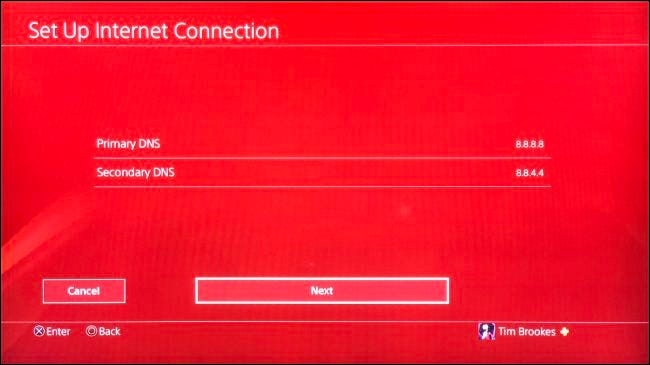 Set Up Custom DNS for PS4