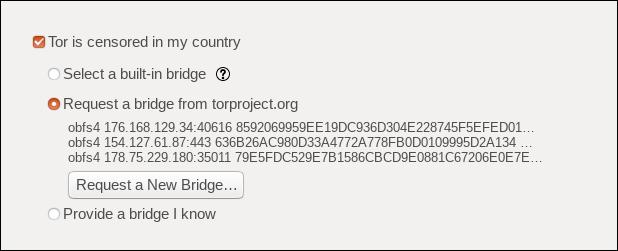 request a new bridge