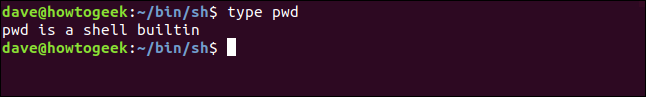 type pwd in a terminal window
