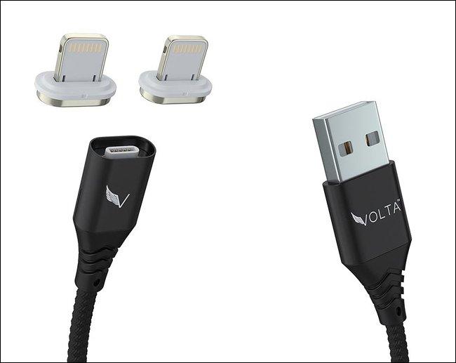 Volta magnetic charging adapter