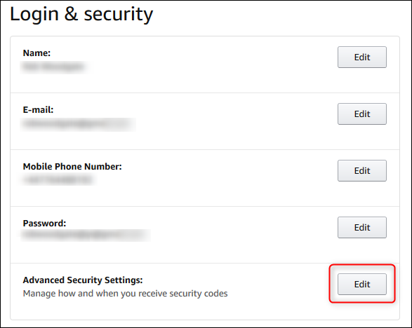 """The """"Advanced Security Settings"""" edit button"""