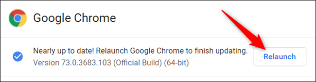 Updating Google Chrome